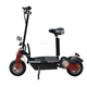 OEM acceptable 2 wheel EVO electric folding scooter 800W 1000W E scooter with seat