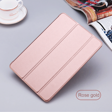 Leather 360 Rotating Smart Stand Case Cover For APPLE iPad mini 1 2 3 ROSE GOLD