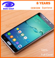 3D curved 100% full covered Tempered glass for samsung galaxy note 3/ 5 mobile phone tempered glass screen protector