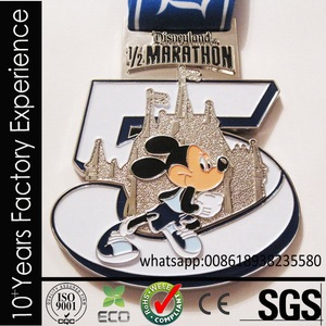 CR-RR699_medal Export to Amazon vintage los angeles marathon medal for sell
