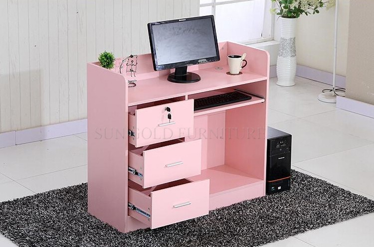 modern office counter table. pink modern wood small shop counter design office reception desk szrtb0252 table r