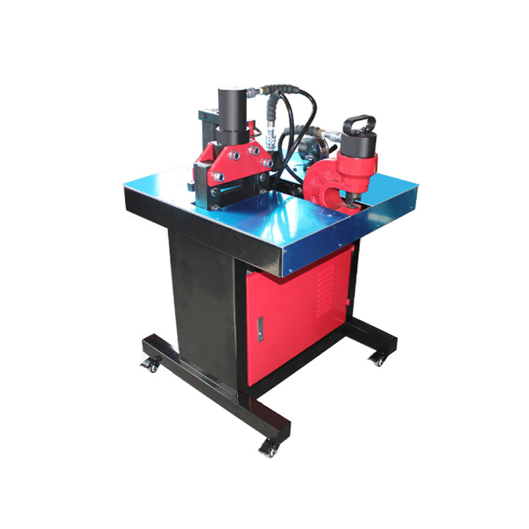 DHY-150 Hydraulic Busbar Processor <strong>Machine</strong> Punching/Bending/Cutting Combination Tool