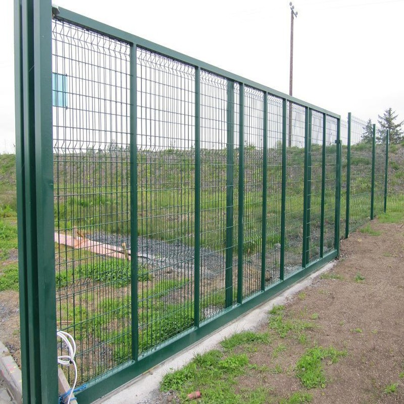 Galvanized And Pvc Coated Wire Mesh Fence Wire Mesh Fence