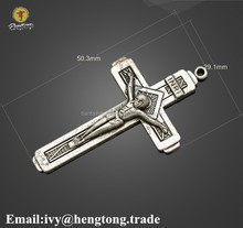 vintage silver bronze metal Fatima Cross Charms Religious cross Charms pendants Christian cross Religious Pendant charms