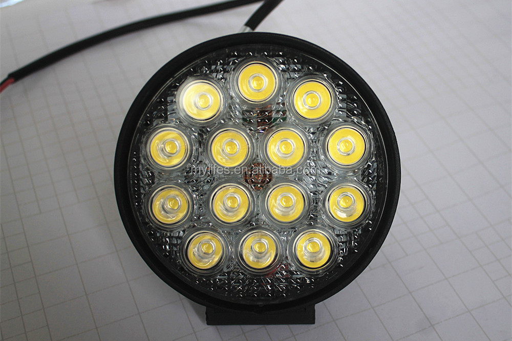 4.6Inch 42W LED Work Light,headlight Led Driving light On Truck,Jeep, Atv,4WD,Boat,Zrz,auto,Mining LED driving light