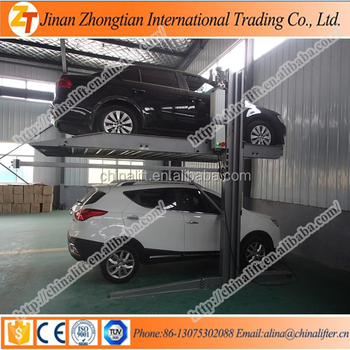 Mini Cheap Hydraulic Car Parking Lift System Platform For Home Garage