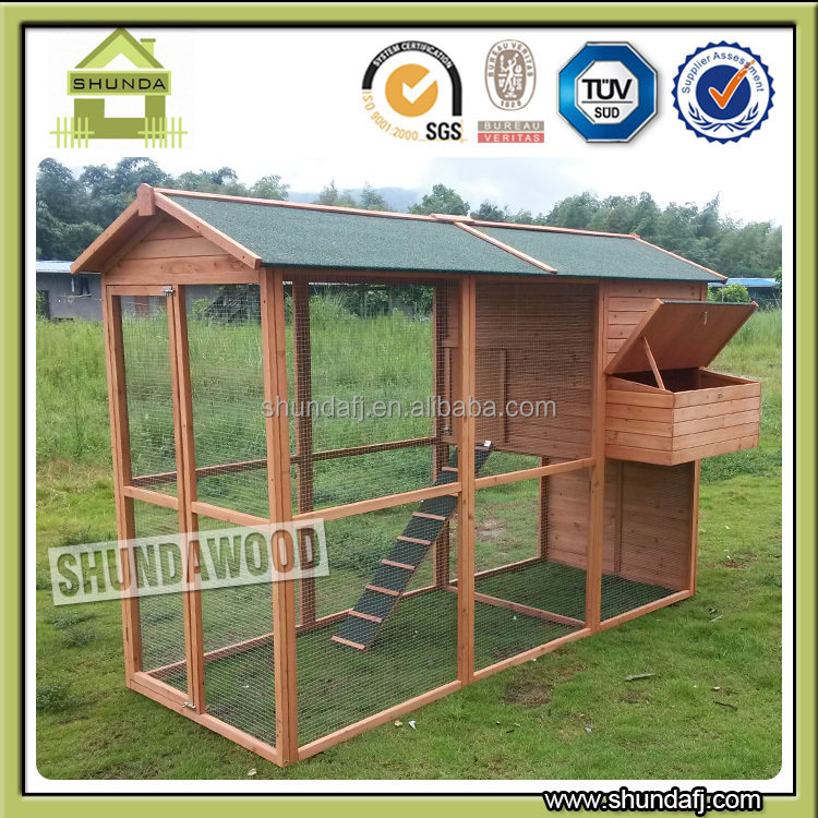 SDC008XL Super Large Deluxe Wooden Chicken Coop Pet Cages, Carriers & Houses