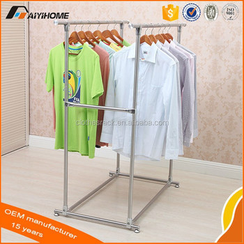 Diy Stand Telesicopic Clothes Drying Rack Coat Airer Buy Clothes Drying Rack Telesicopic Clothes Drying Rack Diy Clothes Drying Rack Product On