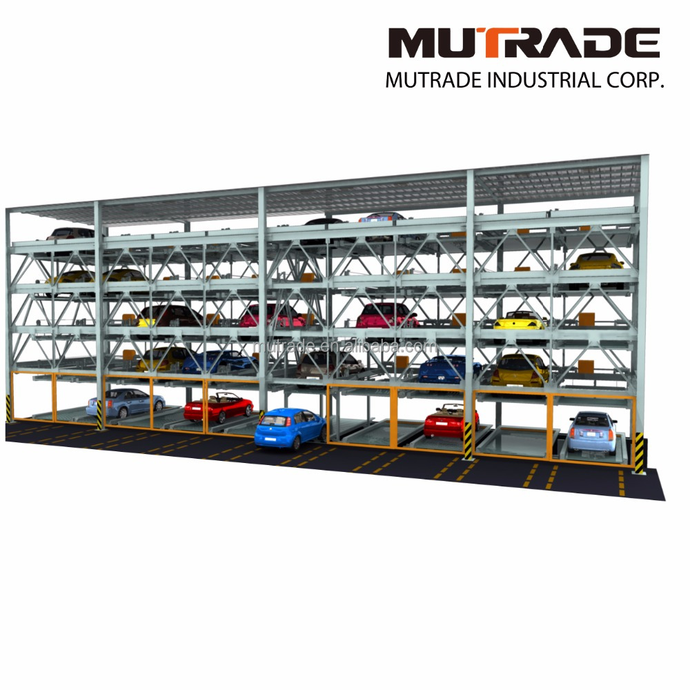 Multi-levels Puzzle Car Parking System Automatic Car Parking System Solutions