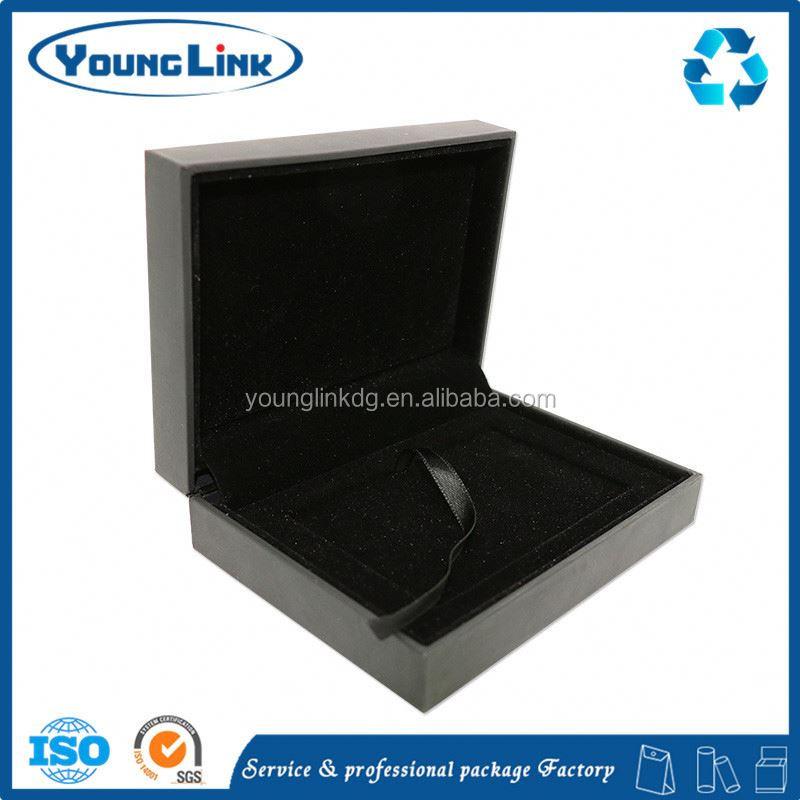 Purplish Red Arc-shaped Ceramic Jewelry Box