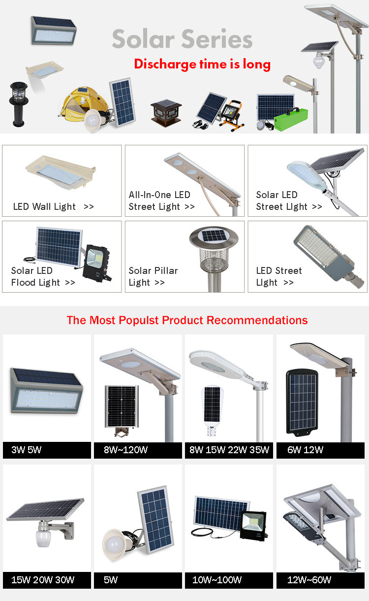 China Manufacturer Aluminum Outdoor IP65 30w 60w 90w solar led street light with price list