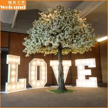 4m white cherry blossom tree indoor decorative tree wedding tree