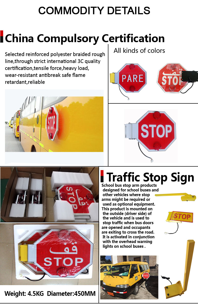 Automatical warning board/traffic warning sign led stop sign
