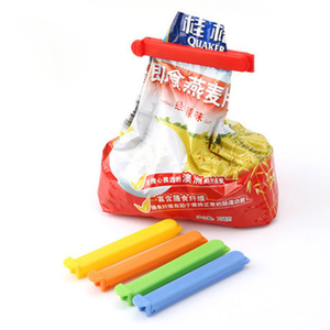 5Pcs/lot Portable New Kitchen Storage Food Snack Seal Sealing Bag Clips Sealer Clamp Plastic Tool
