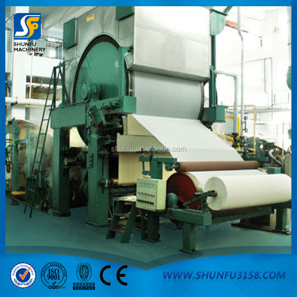 High speed A4 A3 paper making machine for paper mill