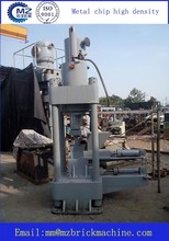 Automatic Metal chip high density hydraulic press equipment