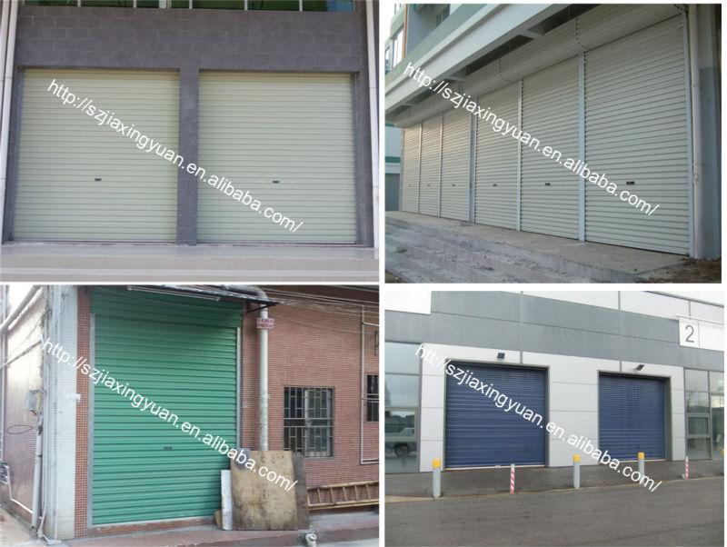 Motorized Shop Security Steel Roller Shutter Door