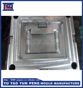New Design Plastic Injection CRT TV shell mould Hot sale LCD TV shell plastic injection mould