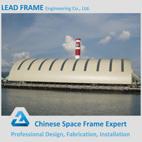 Prefabricated Steel Frame Structure Storage Coal Power Plant For Sale