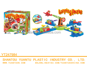 Shantou toys intellectual game set looping electric toy plane Electric game toys