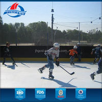 hockey synthetic ice with high wearability and self-lubrication , it is the best substitute for real ice