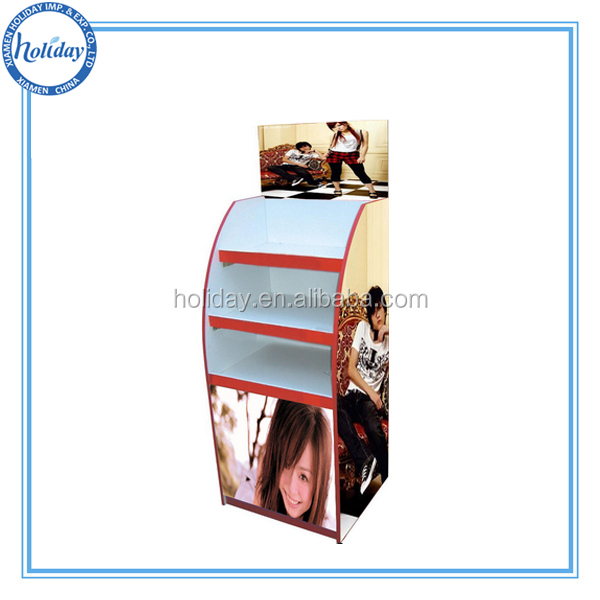 Draagbare t shirt vloer display stand weer te geven for Portable t shirt display