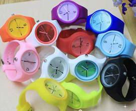 2012 promotional new hot fashionable silicone jelly quartz watch of any color/Dongguang Yiheng