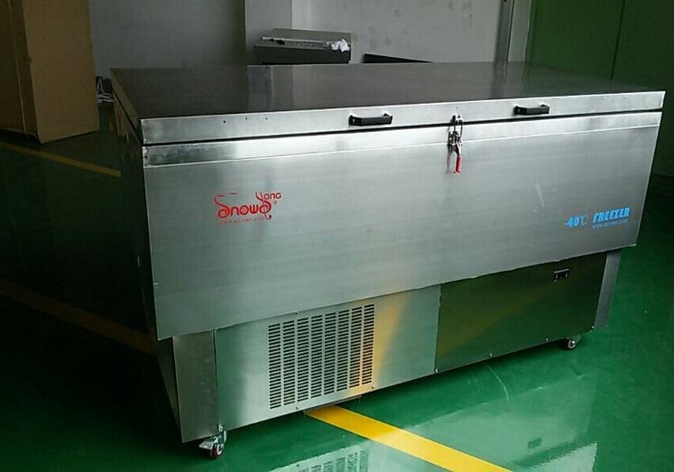 DW-40W208 -40c Horizontal Electric Deep Freezer Pharmacy and Lab Refrigerators Industrial Refrigeration Cooling Chamber