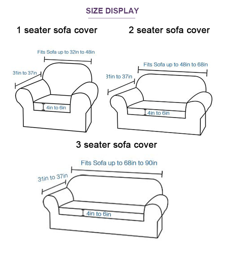 sofa cover 3 seater
