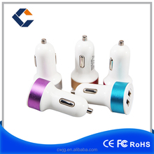Wholesales quick portable charger 5v 2.1 A usb charger ,dual usb car charger for mobile phone and pad