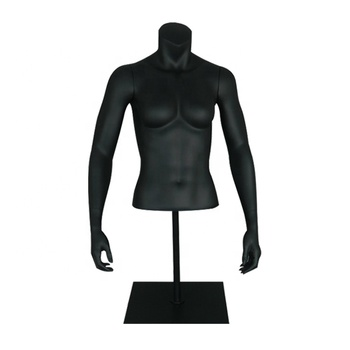 half-body sports female bust mannequin upper body torso with arms stand without head on sale