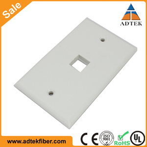 Lowest Price CAT6 1 port Network Faceplates