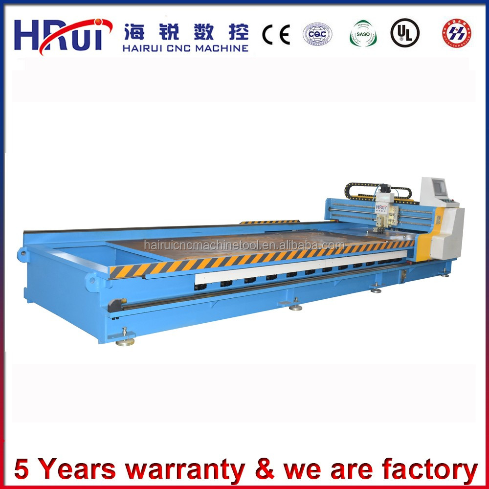 Easy and simple to use Stainless steel Surface,metal manual steel punching V Groove CNC machine with servo drive