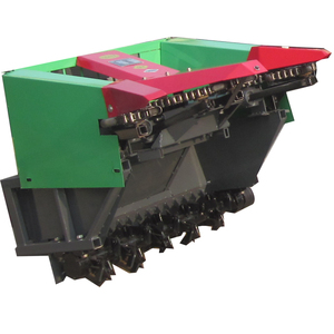 High quality Tractor mounted Mini combined Corn harvester and cutter machine