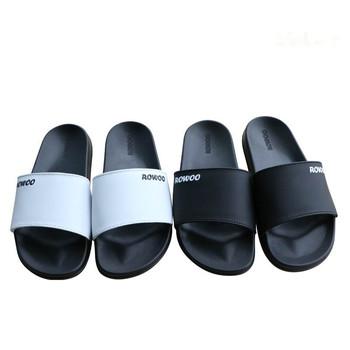 Rw29640 Cool Black Men Sports Slipper