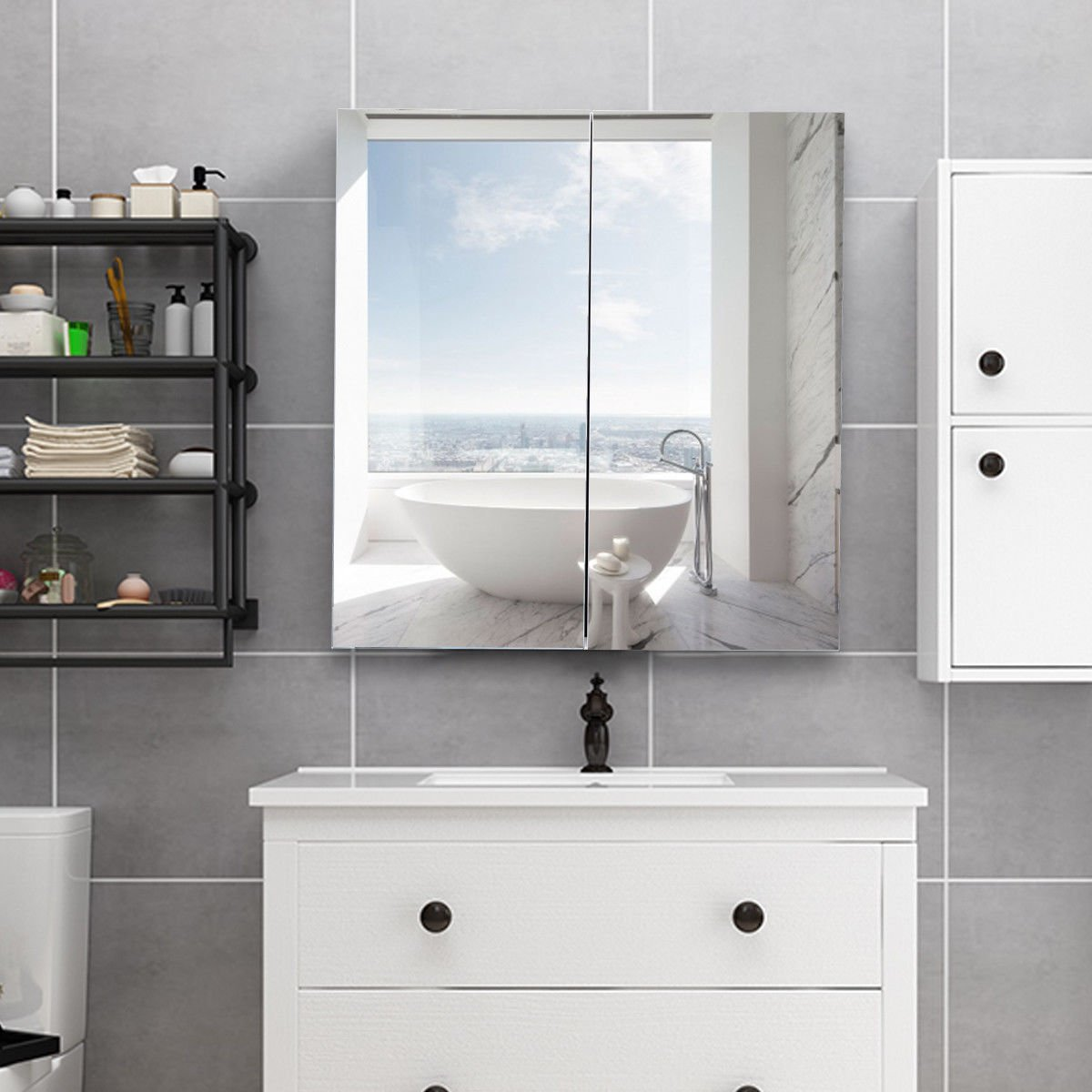 Cheap Argos Mirrored Bathroom Cabinet, find Argos Mirrored