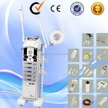 ozone steaming ultrasound microdermabrasion 17 in 1 multifunctional beauty machine AU-9988