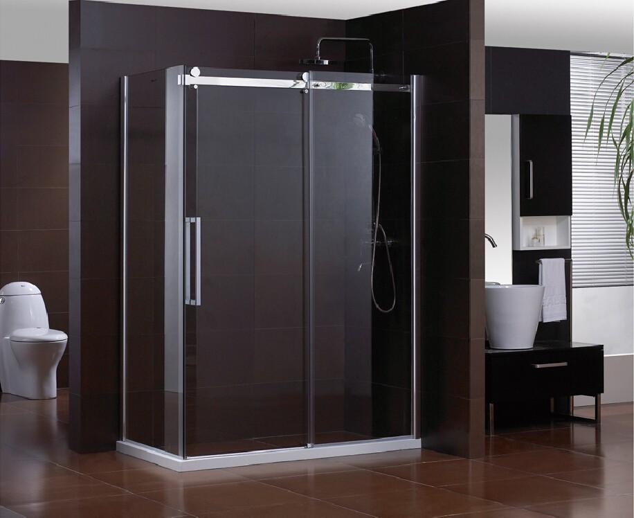 China leverancier frameloze douche deur gemakkelijk schoon glas