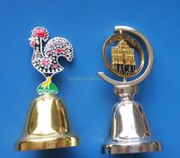 personalized metal dinner bells souvenir dinner table bell