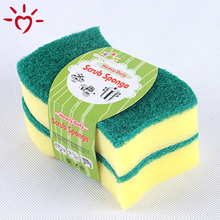 Heavy duty scrub kitchen cleaning sponge scourer