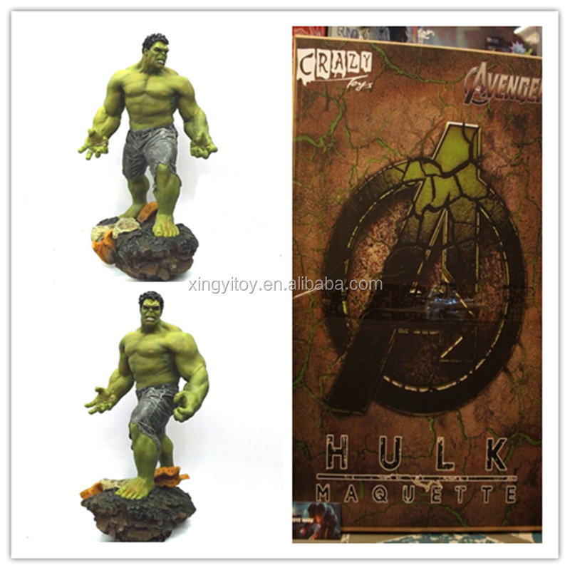 Crazy Toys Marvel Movie Super Hero 1/4 Scale Hulker 60 cm Toy action figure