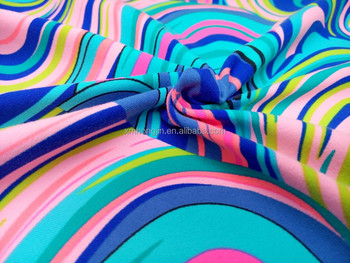 printed supplex fabric activewear fabric suppliers