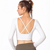 /product-detail/wholesale-summer-yoga-fitness-long-sleeve-t-shirt-sports-wear-for-women-62134251124.html
