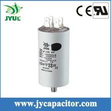 6UF 450V Taizhou CBB60 2+2pins water pump Sh film capacitor with screw