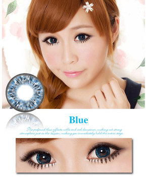Trade Assurance supplier guaranteed quality big eyes color circle cosmetic contact lenses
