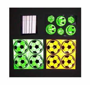 high visibility reflex toys gift / decals safety reflectors / reflective safety stickers