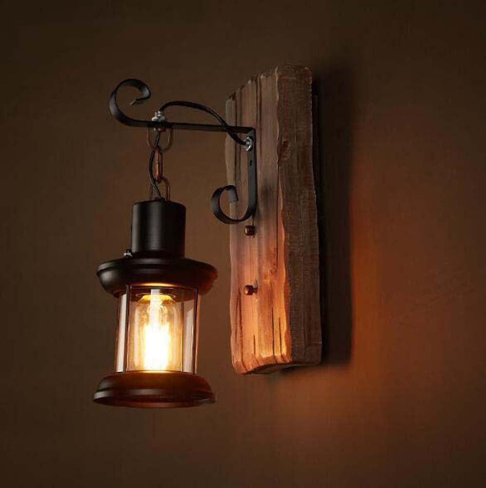 Rustic/Lodge Vintage Country Traditional/Classic Wall Lamps & Sconces For Indoor Metal Wall Light 220V 110V 60W