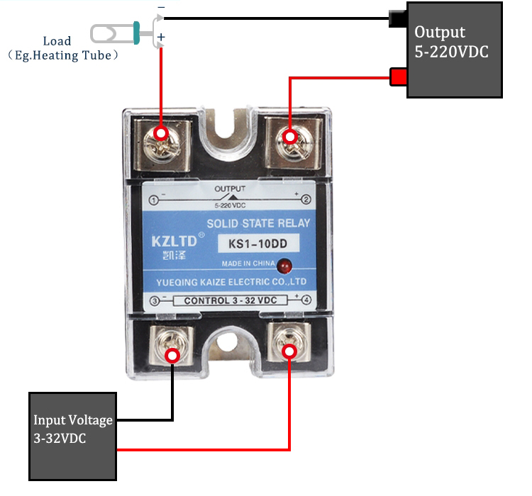 Phenomenal Wiring Solid State Relay Basic Electronics Wiring Diagram Wiring 101 Capemaxxcnl