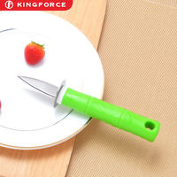 KF210020 high quality seafood serving tools stainless steel oyster knife with plastic handle kitchen gadgets accessories