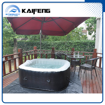 Freestanding Outdoor Inflatable Portable Spa Tub